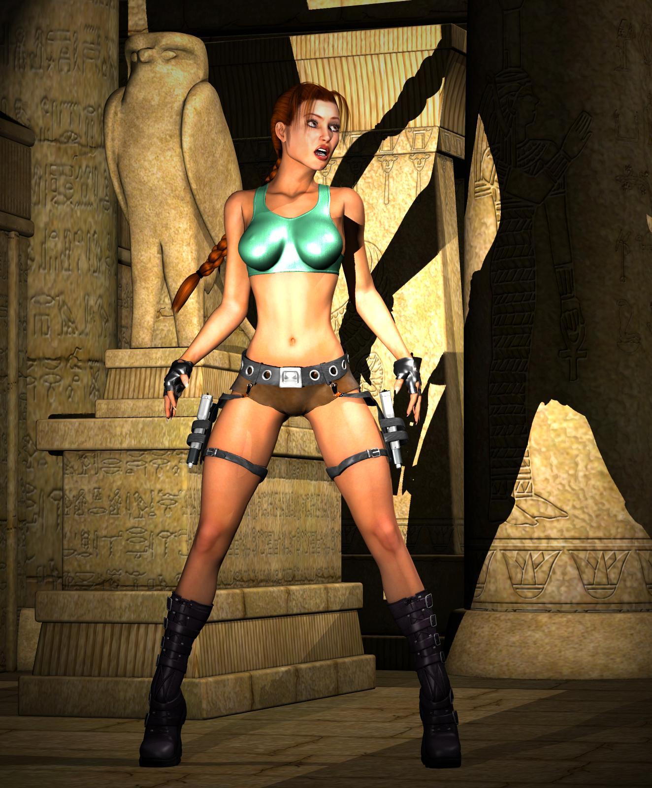 Tomb raider 3d boobs images sexy stupid tit