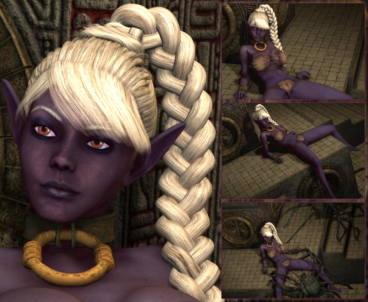 Blood elf henati erotic video