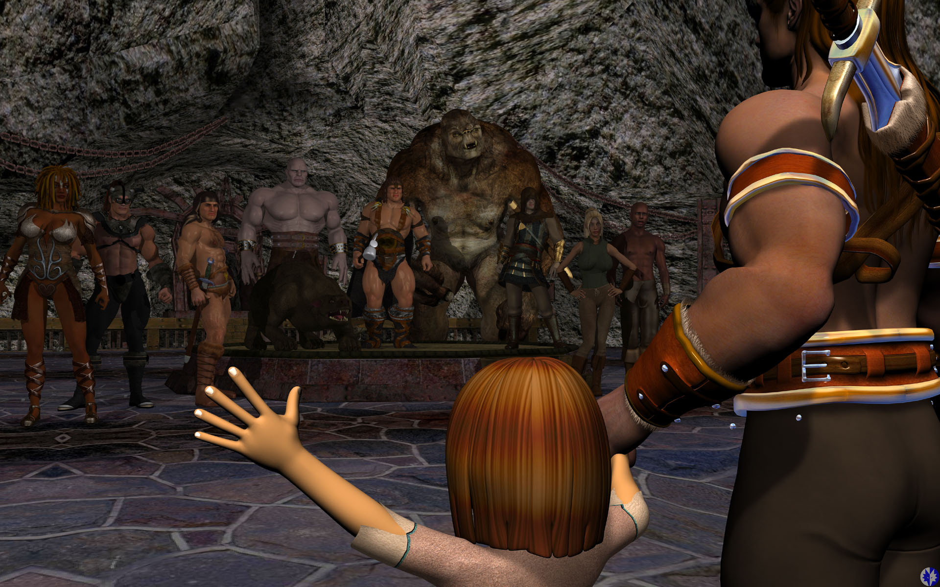 3d orcs and amazon's xxx galleries
