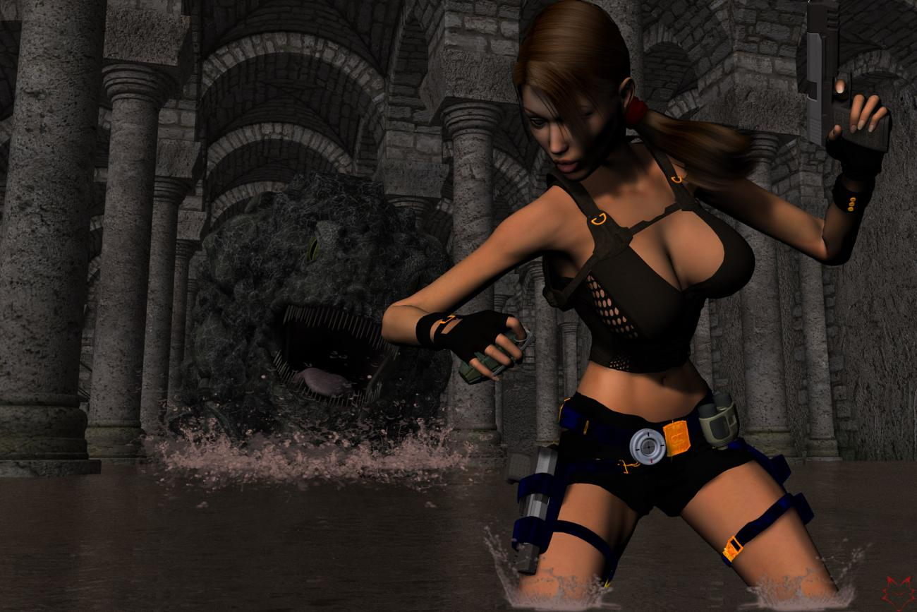 Cartoonmonster tomb raider erotic pic