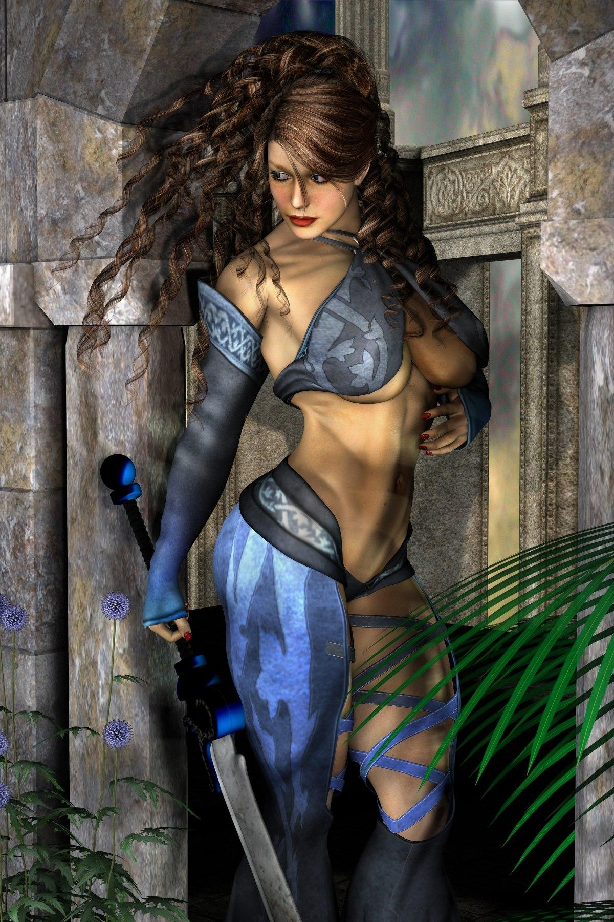 3d warrior girls gallery erotica thumbs