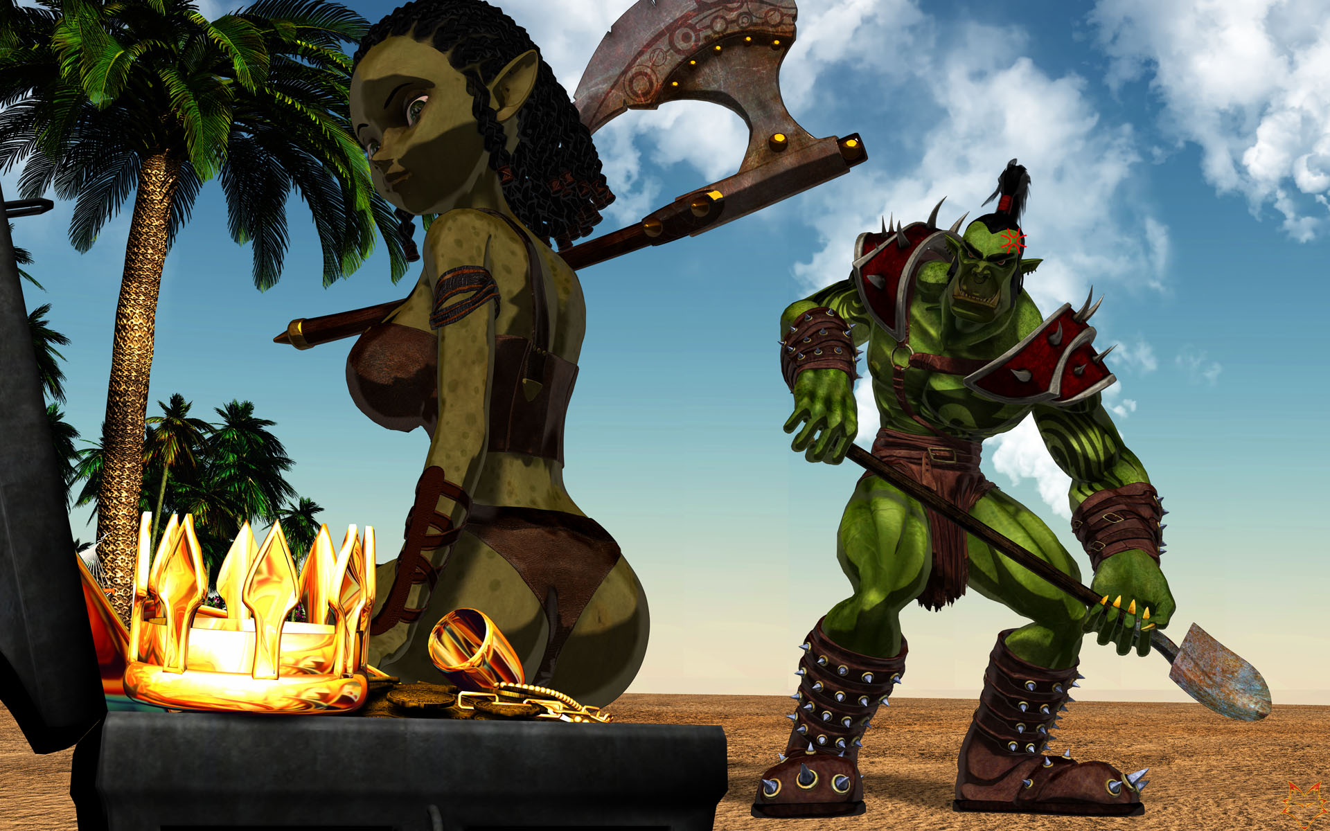 Pregnant by orc xxx video