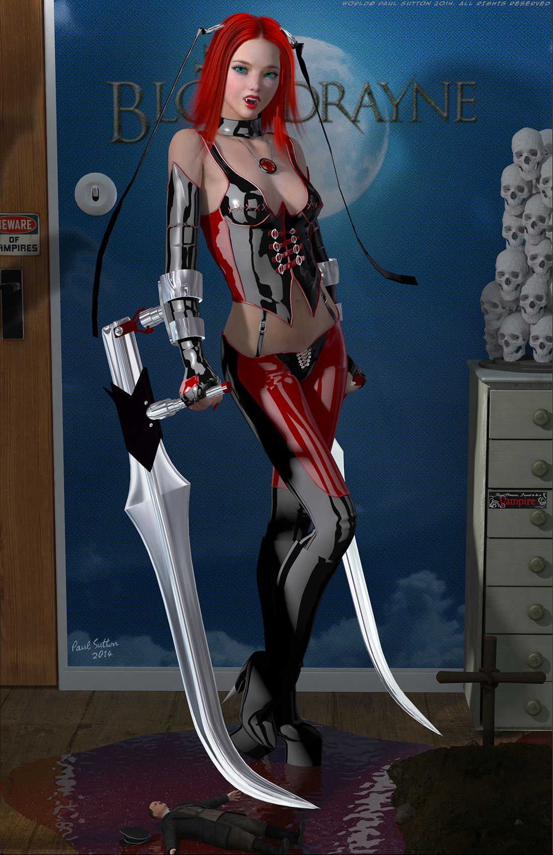 Bloodrayne 2 skins fucking photo