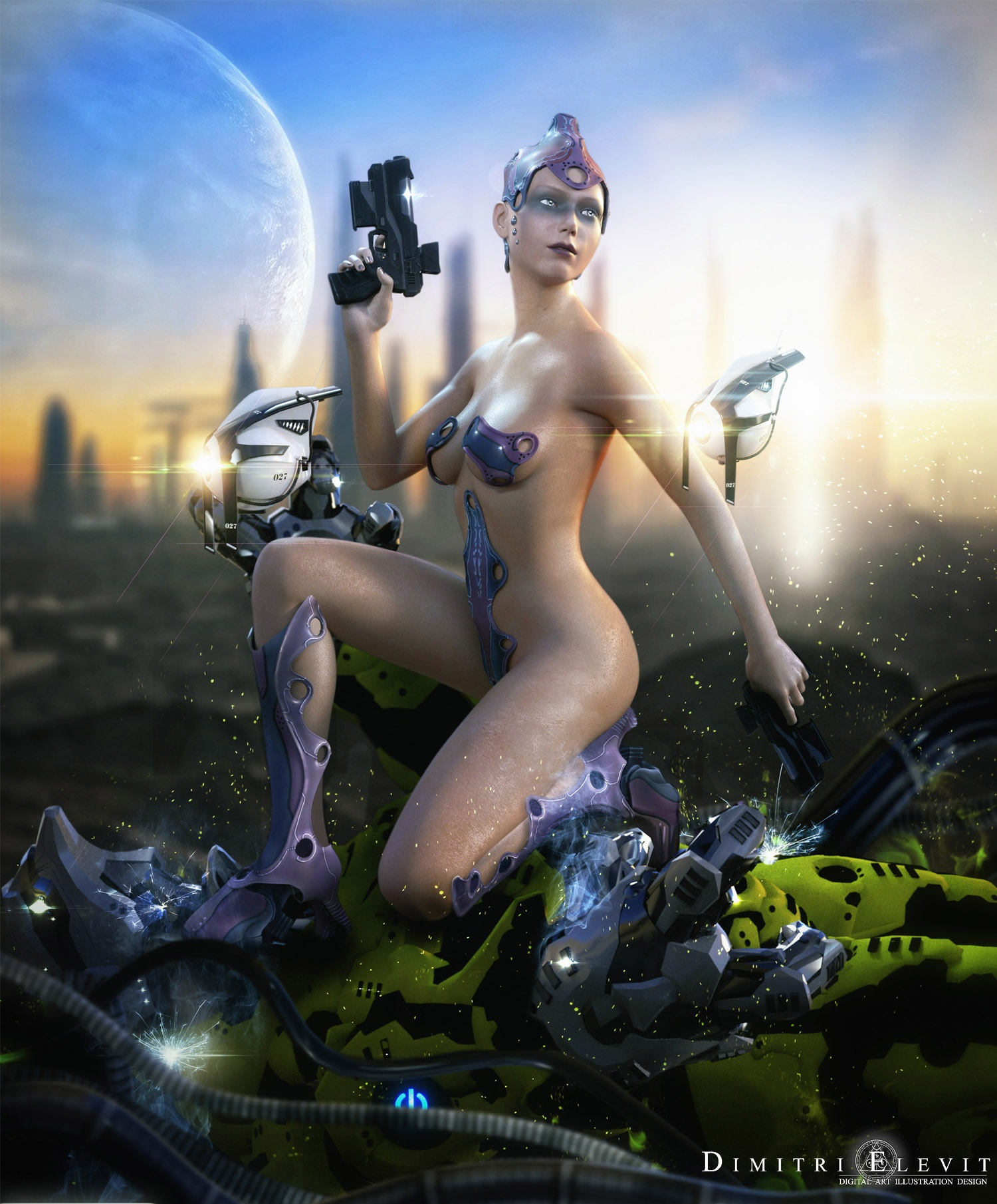 Scifi sex art erotic pictures