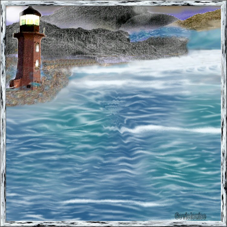 lonely light house