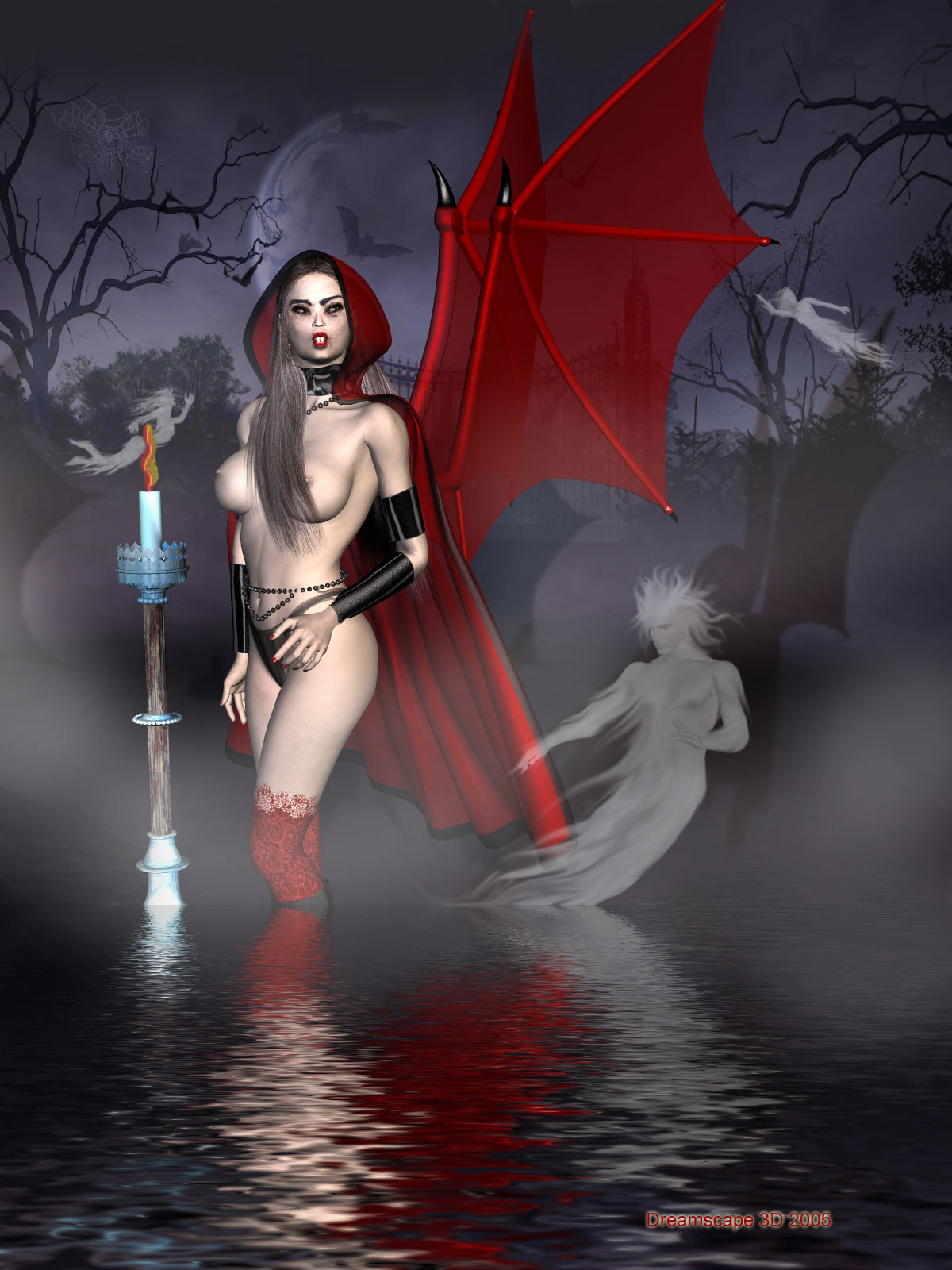 All Hallow's Eve (nudity)