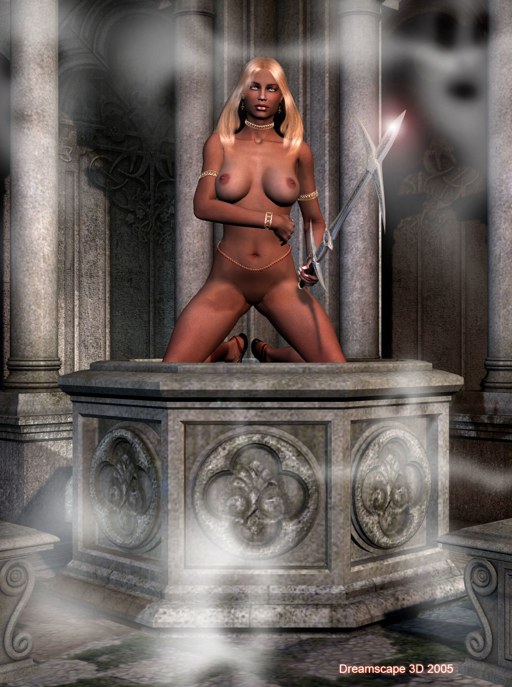 The Ghost Keeper (nudity)