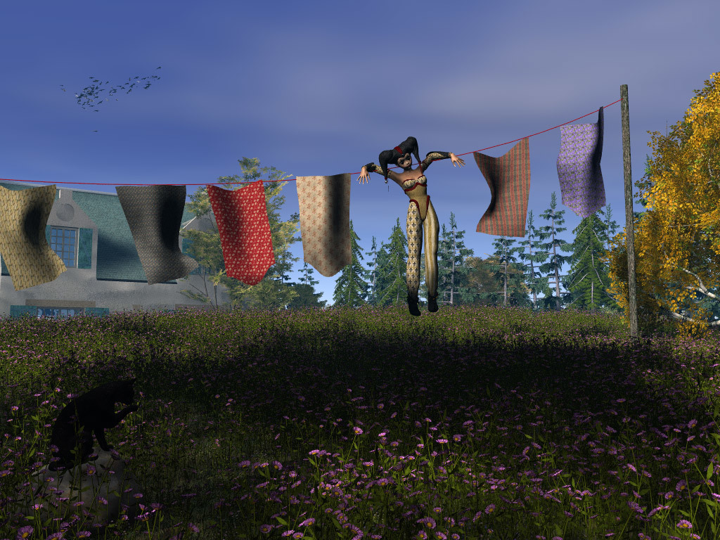 Hung Out to Dry by Djeser