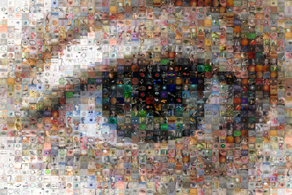 Nadine Eye Mosaic