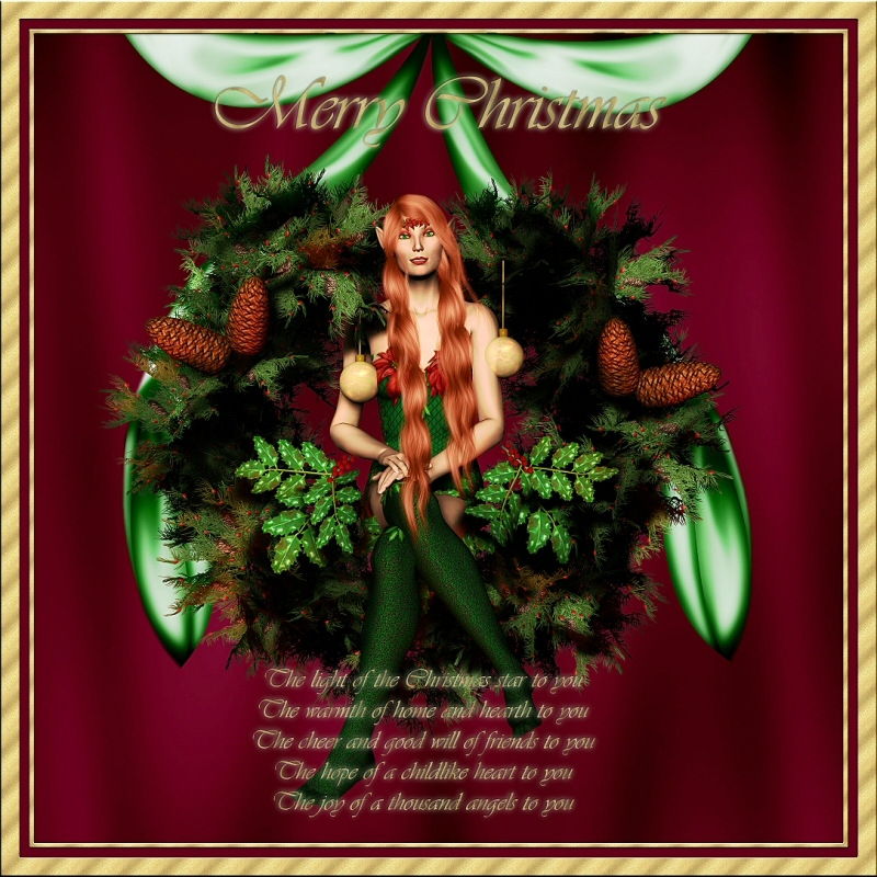 Irish Christmas Wish by Toribev Poser Seasonal/Holiday