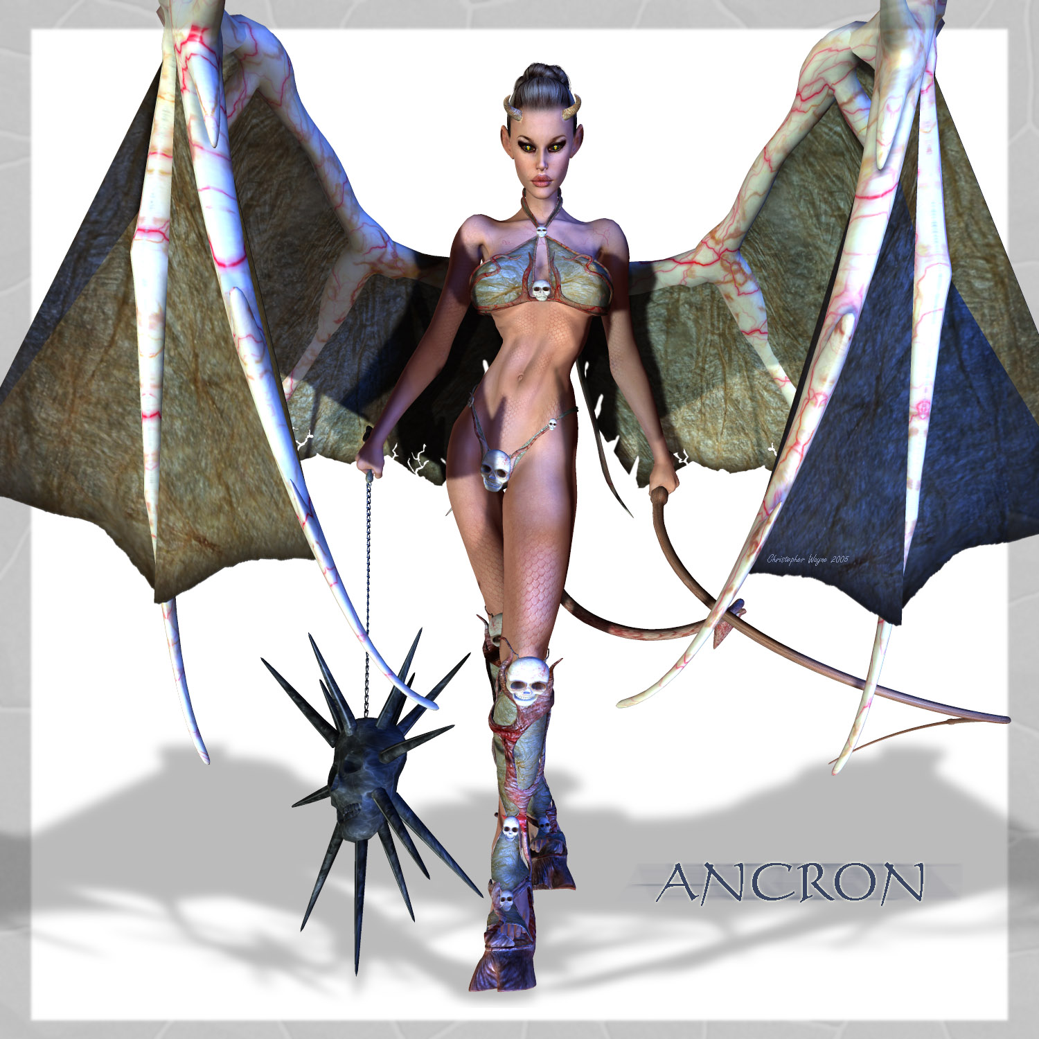 Ancron (Spoiler of Worlds)