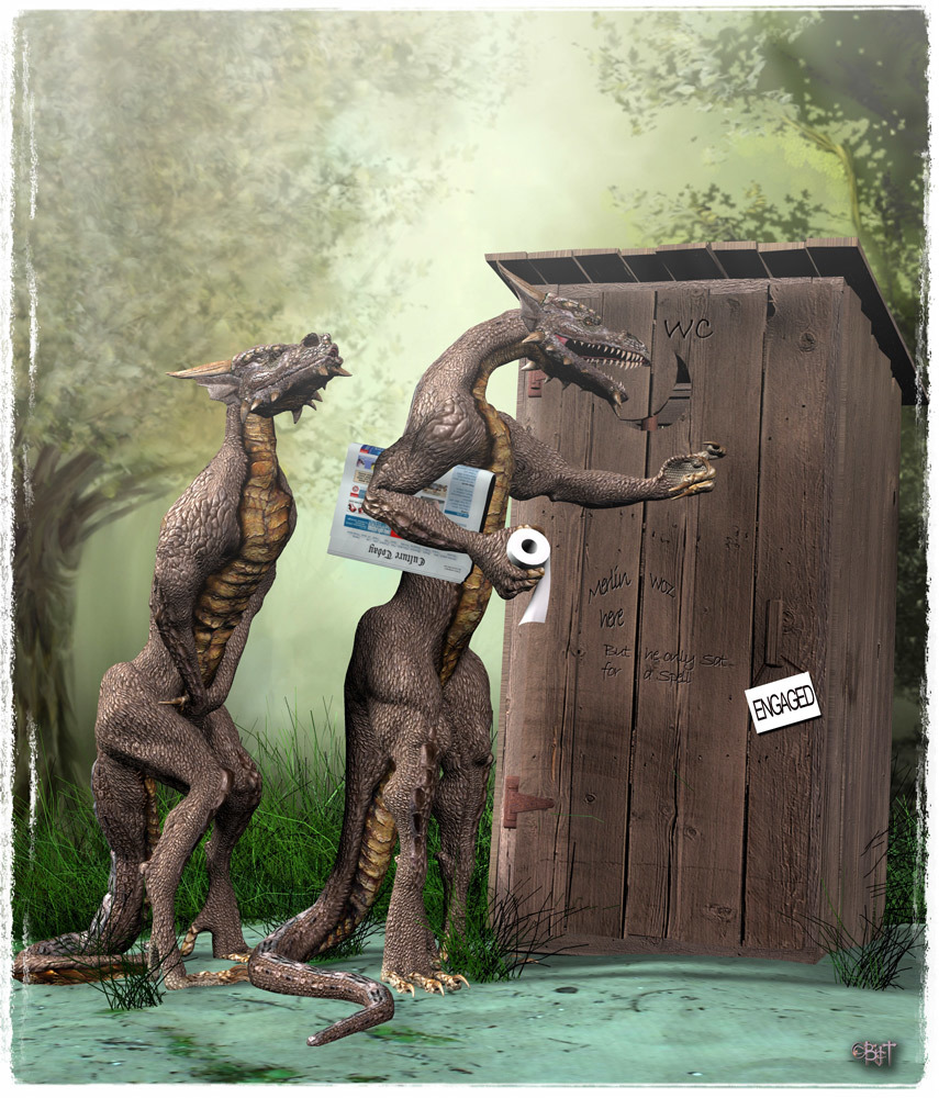 The Outhouse by Bigt