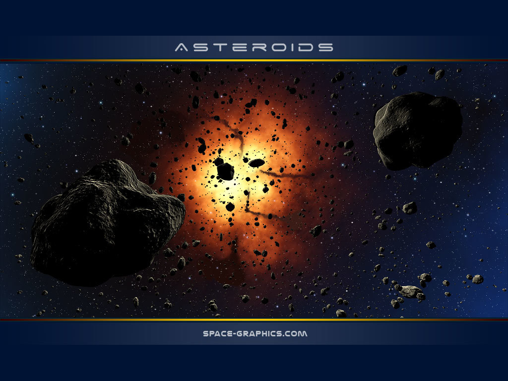Asteroids by SpaceGfx