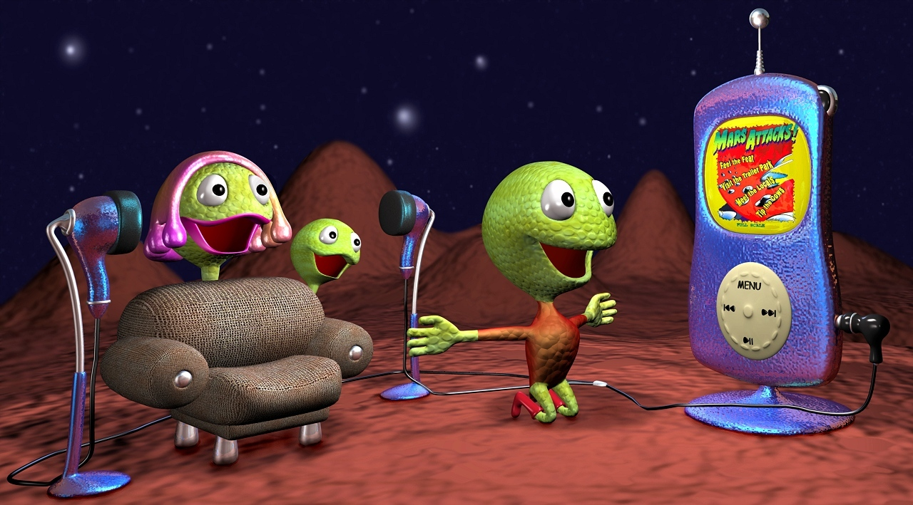 Little home theatre for little martians... by micaelito