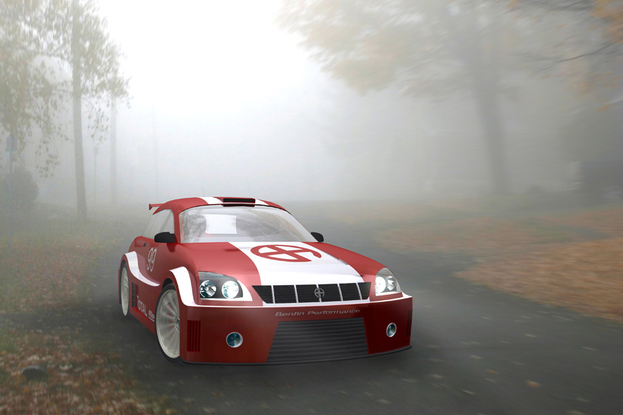 Foggy Morning Rally