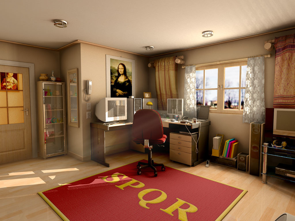 Vray Style Mental Ray For Maya Room Rendering By Withego Maya Atmosphere Mood