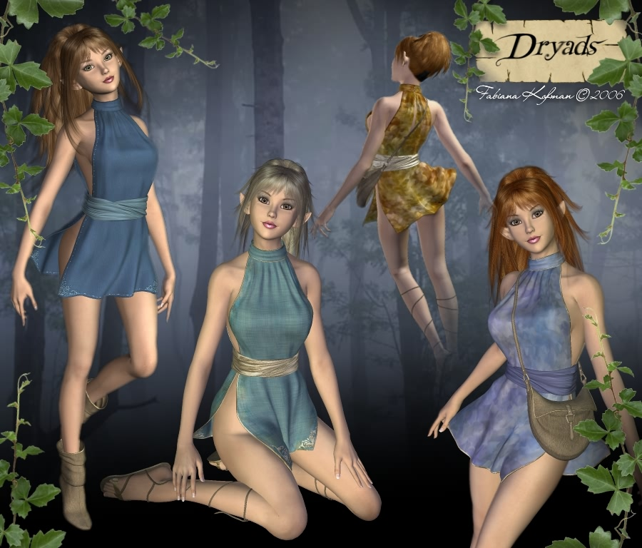 Dryads from the forest-1