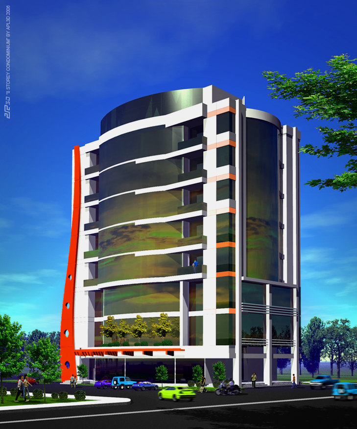 Horizon Tower - 8 Storey Condo