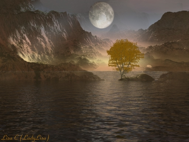 Moonlight Canyon by LadyLisa