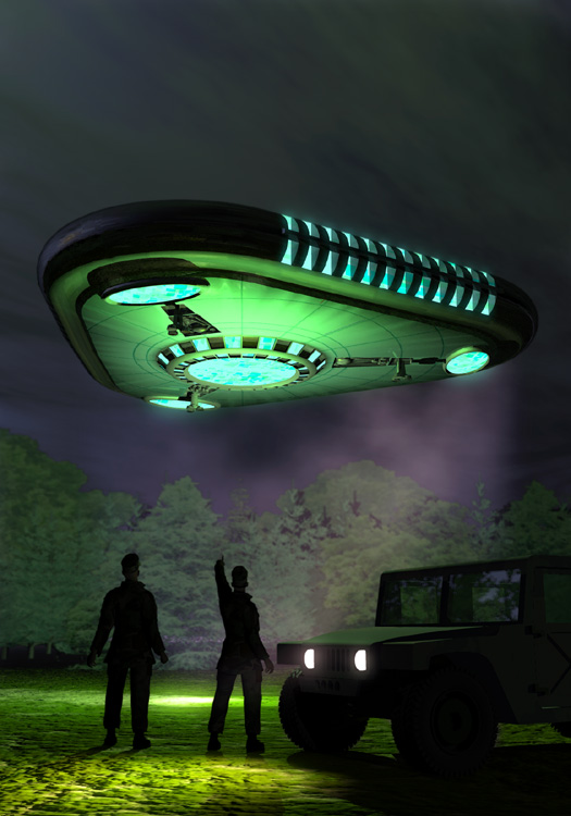 Rendlesham Forest Ufo Incident By Duo Bryce Science Fiction-9088