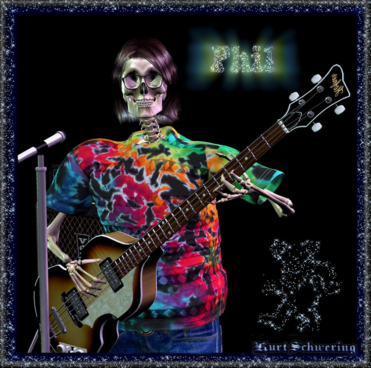 Phil Lesh (Touch of Grey) by Methastopholis