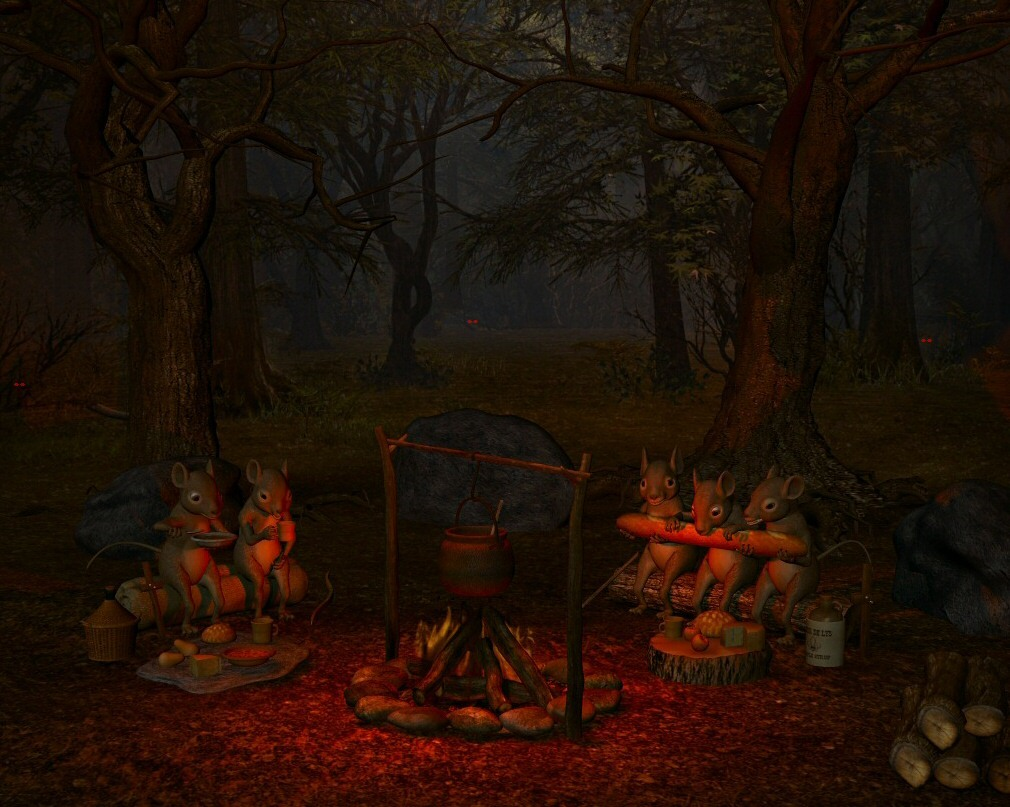 Camp Out by ziggie