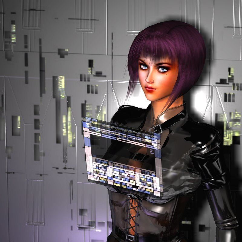 Ghost in the Shell Babe