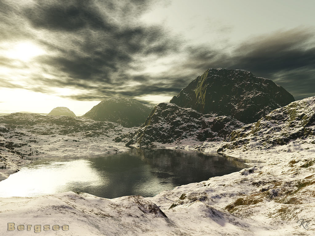 Bergsee by Dotthy