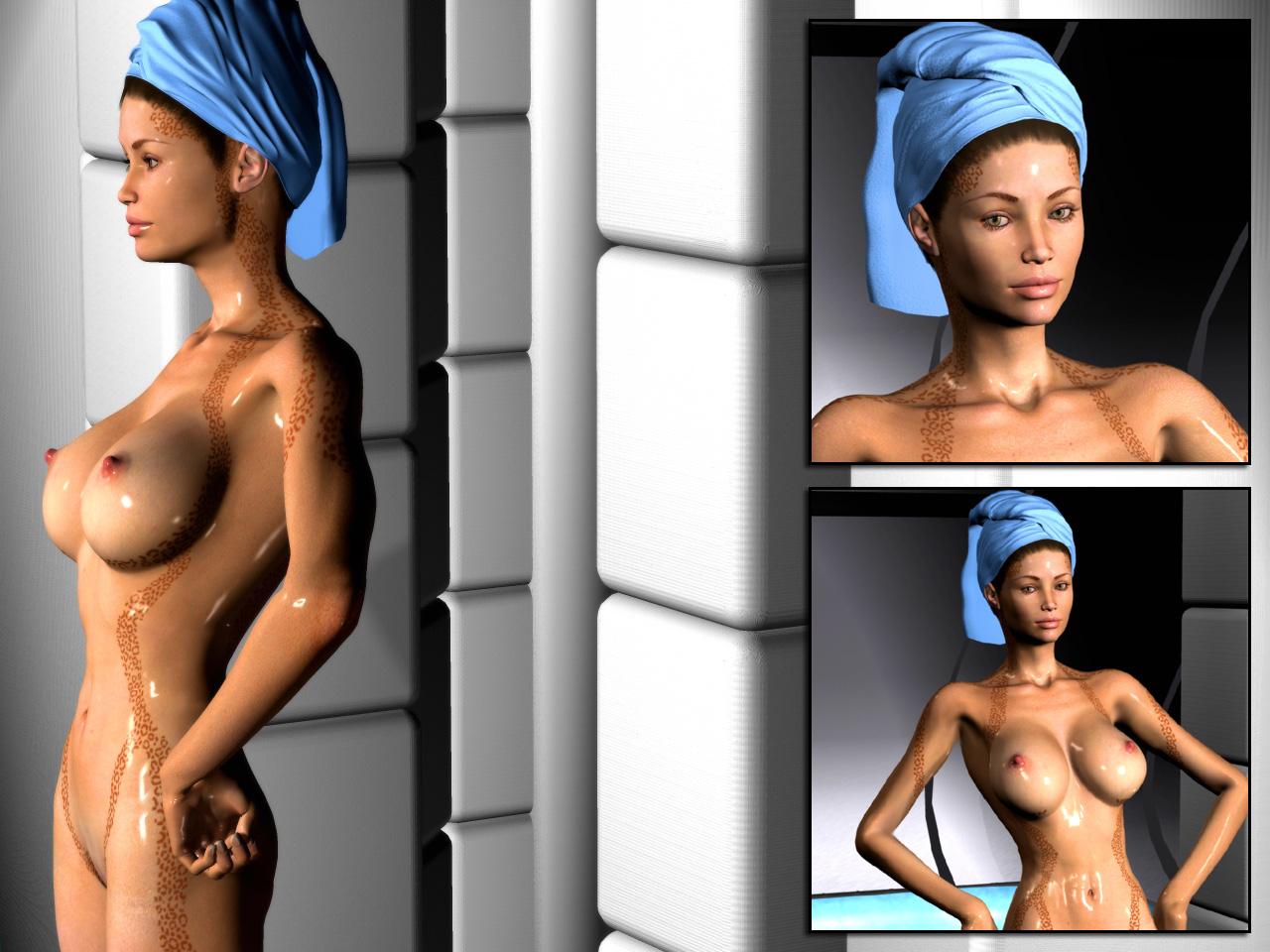 Think, the in nude the women star of trek too