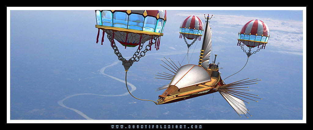 Sailing on the Open Sky!