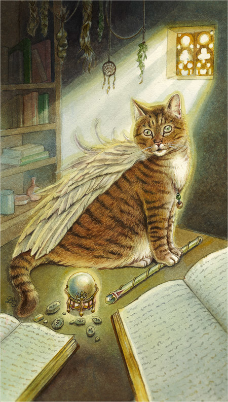 The Winged Cat