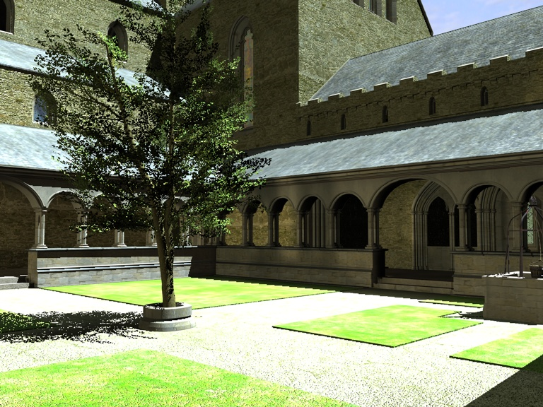 Within the Cloisters