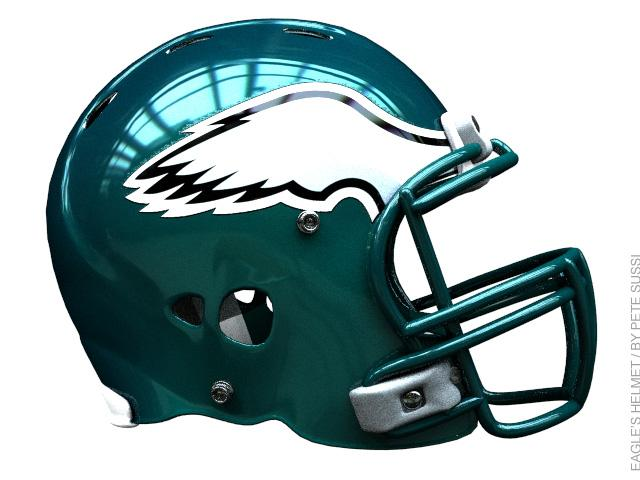 NFL EAGLES HELMET