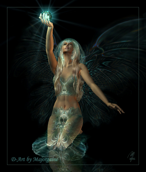 the turquoise crystal