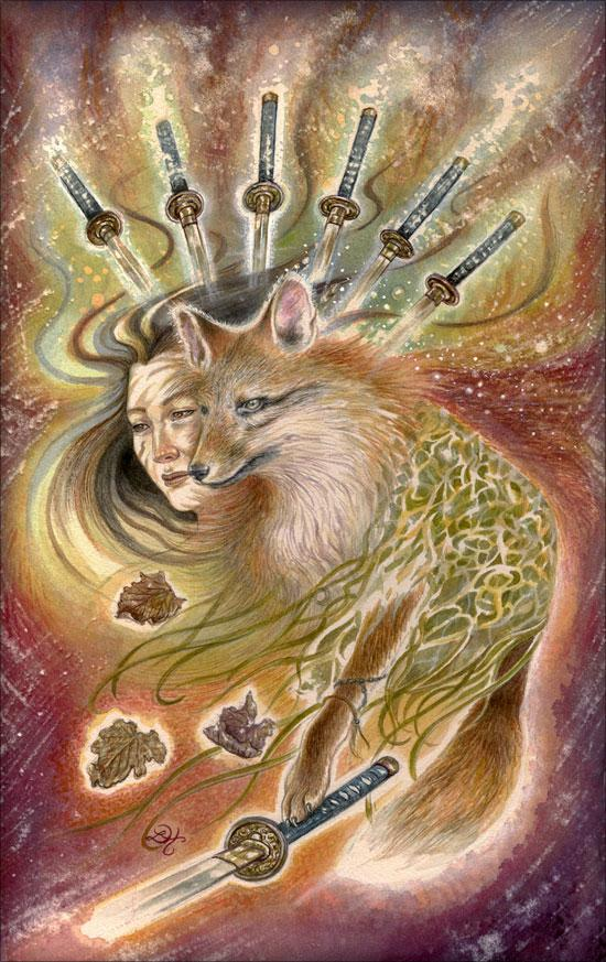 Fox Spirit - Fantastical Creatures