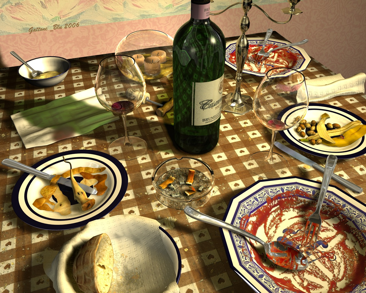 After the supper