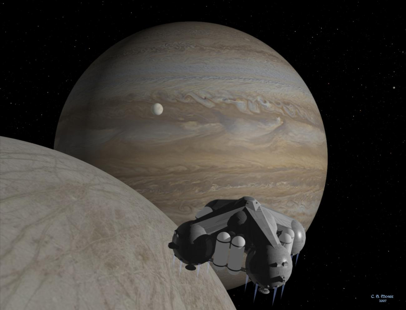 GANYMEDE DESCENT
