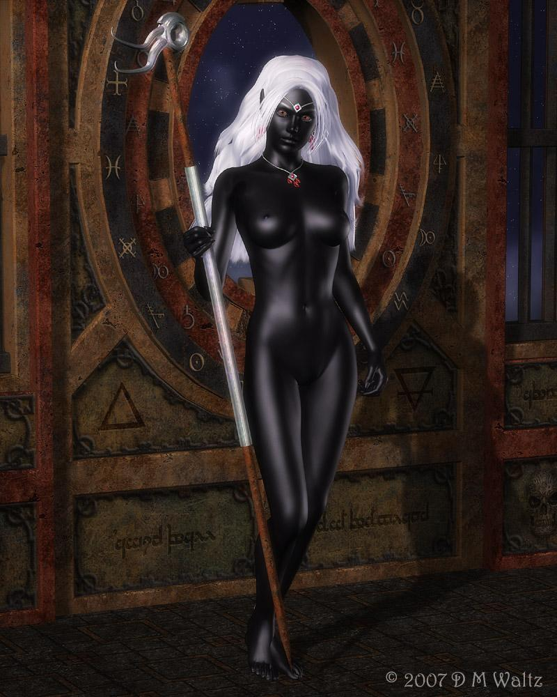 Naked drow females — pic 14