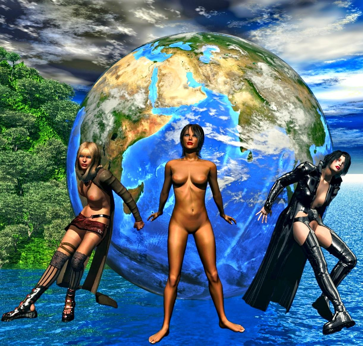 mulheres e a terra (women and the earth)