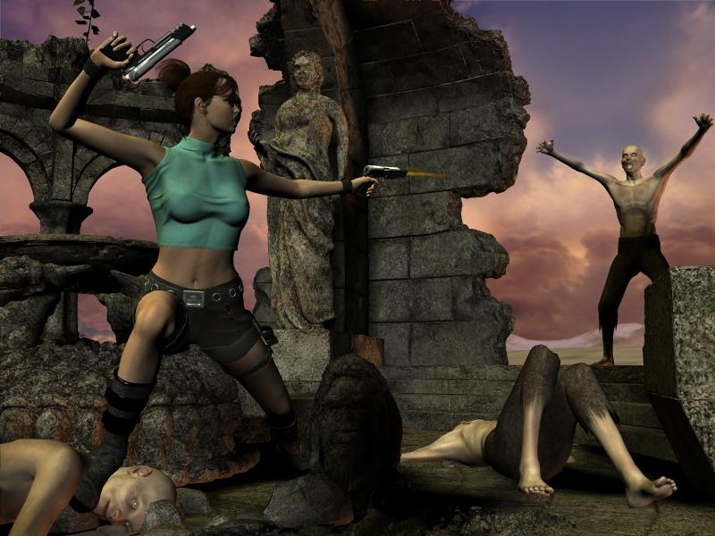 Tomb Raider In The Temple Of Despair