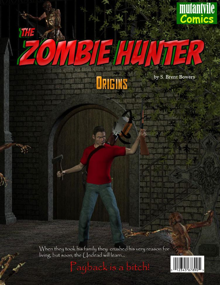 The Zombie Hunter Issue Cover