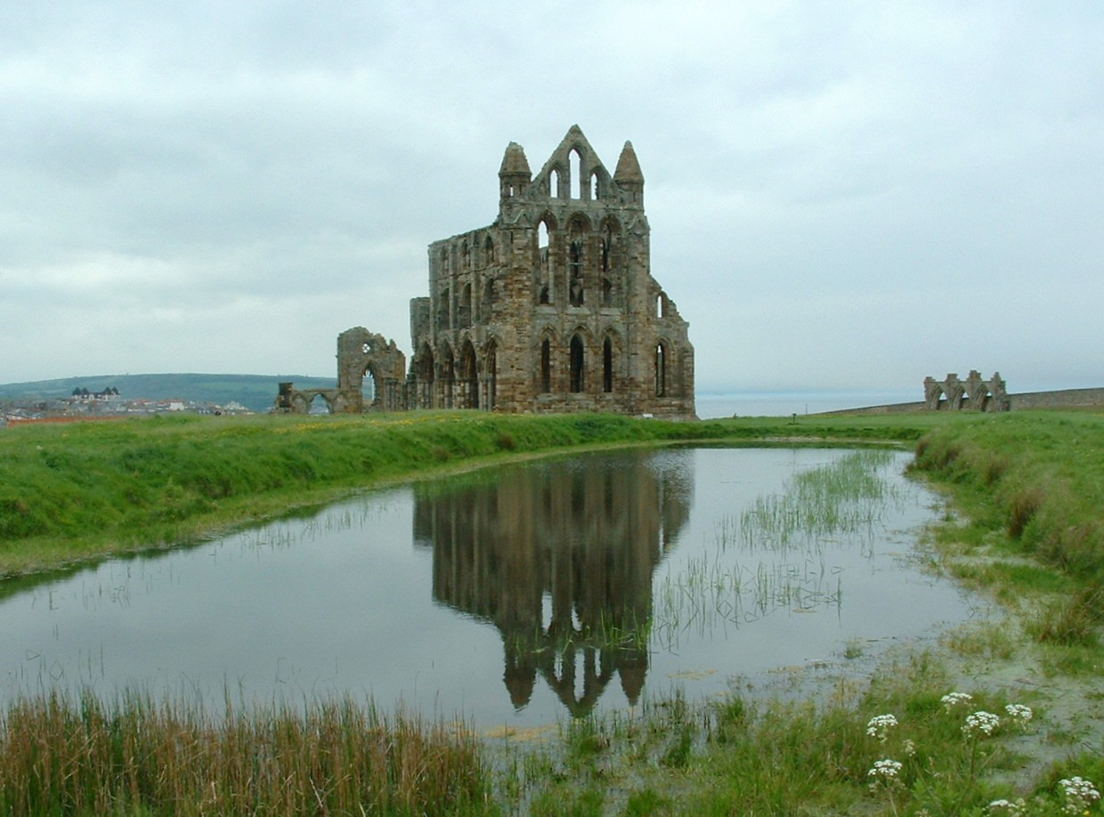 Reflecting at the Abbey