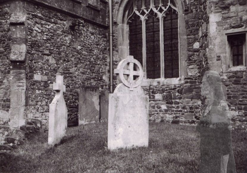 Ghost in the Church Yard