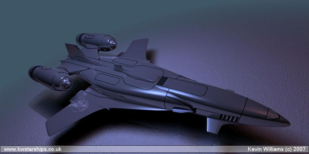 Starship Prototype 4.8(with wings wip)