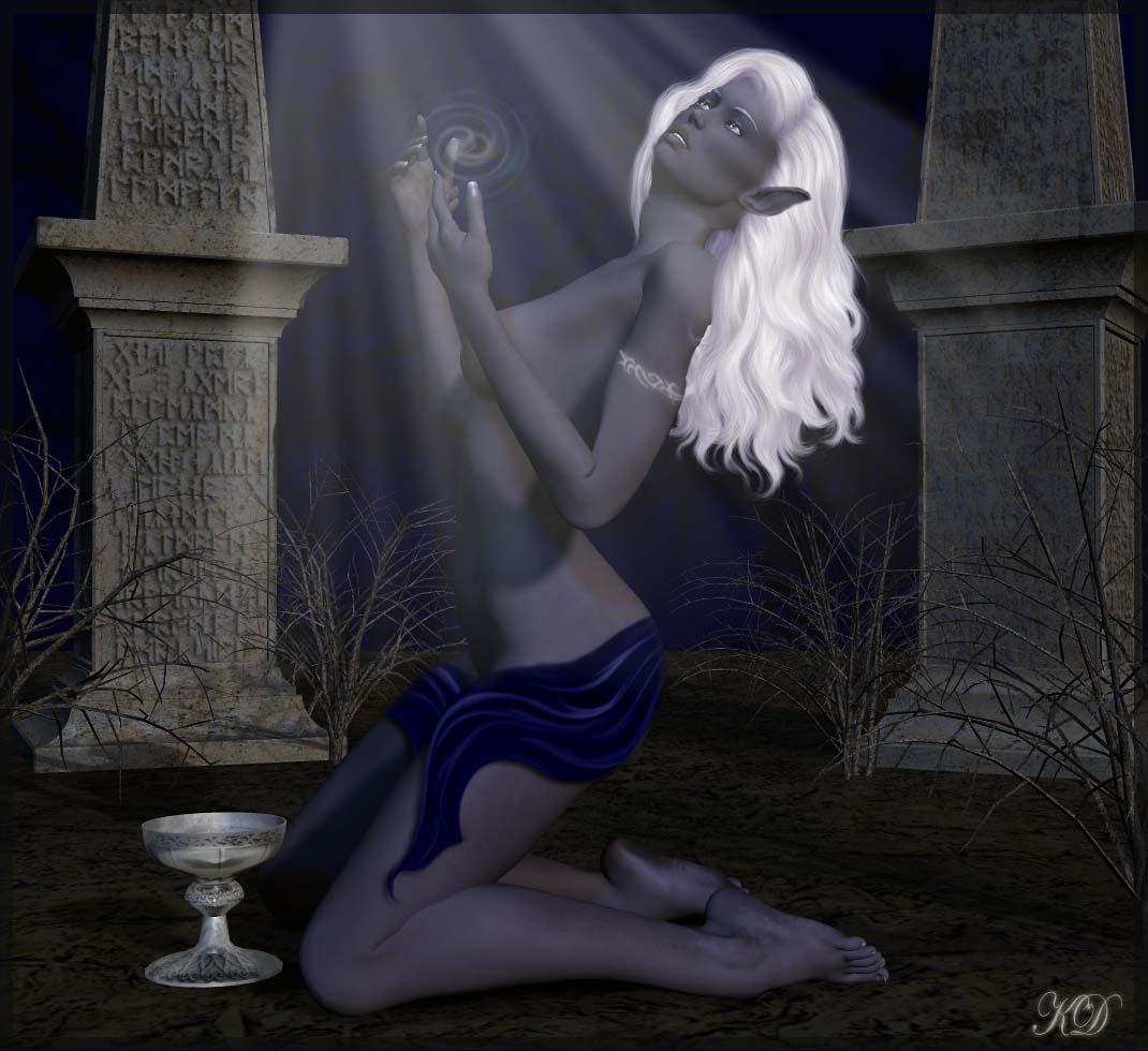 Blessings of the moon by keelin