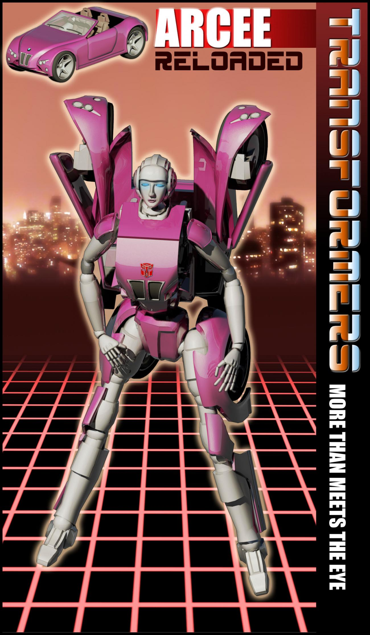 Arcee of Autobots Reloaded 2010