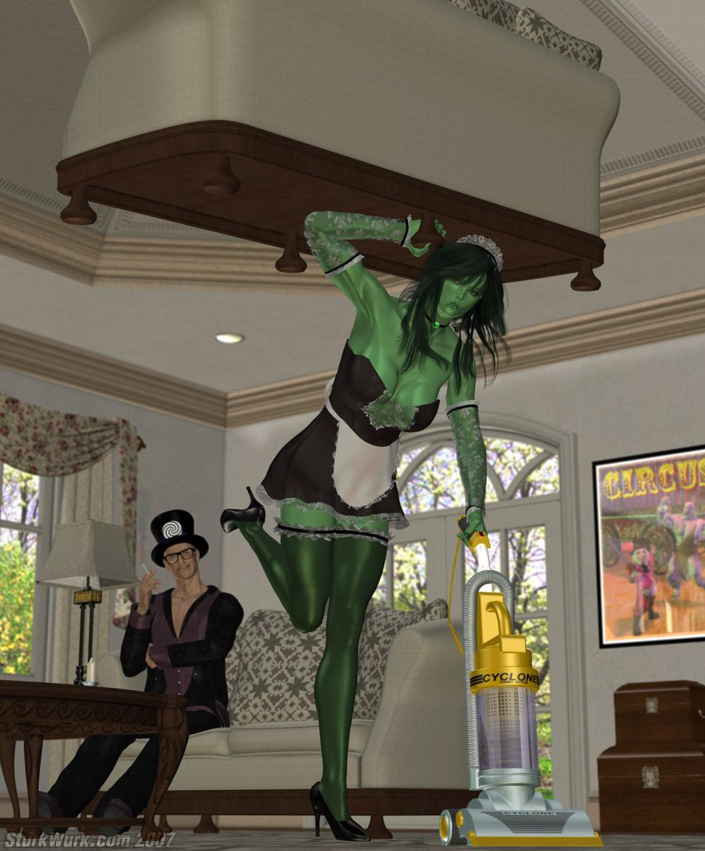 She Hulk Maid to Order (tweaked)