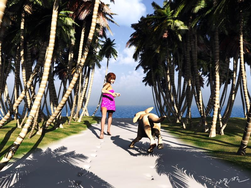 Let's go to the beach!(resort version) by Ark_Pilot
