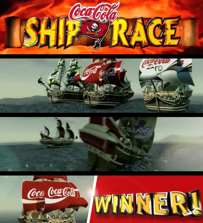 Tampa Bay Buccaneers-Ship Race