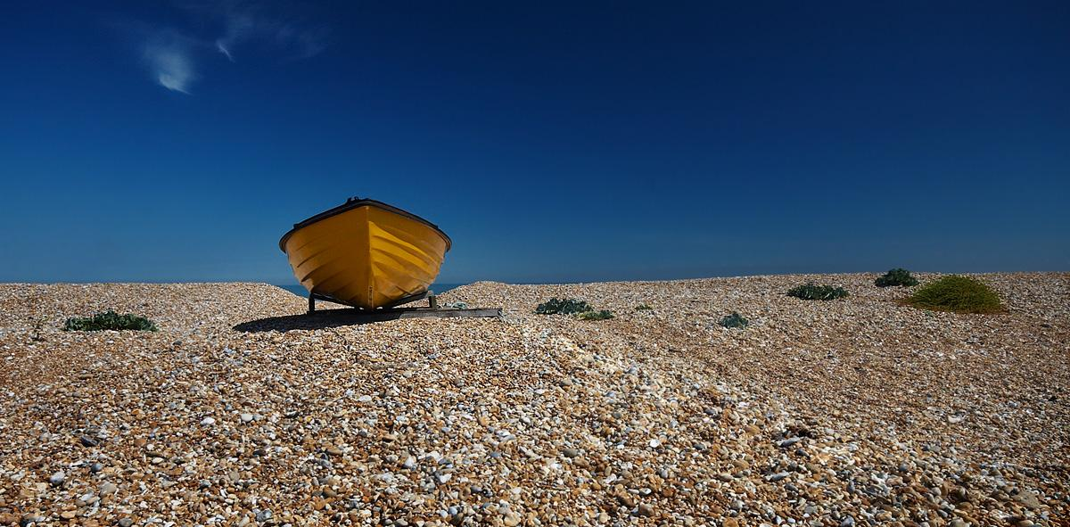 Yellow Boat by Onslow